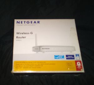 Netgear Wireless-G Router (WGR614) for Sale in Thomasville, NC
