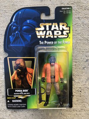 Star Wars The Power of the Force Ponda Baba Action Figure for Sale in Los Angeles, CA