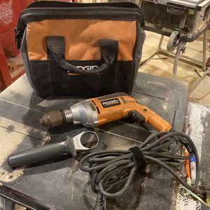 Rigid Drill With Case for Sale in Tinley Park, IL