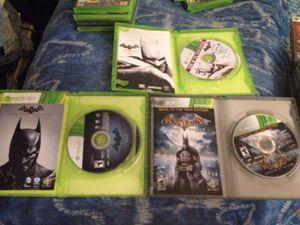 Xbox 360 Batman Arkham games for Sale in Orlando, FL