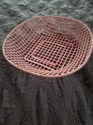 Rubber coated basket for Sale in West Palm Beach, FL