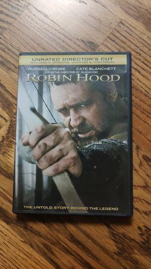 Robin Hood Movie on DVD for Sale in Tulsa, OK