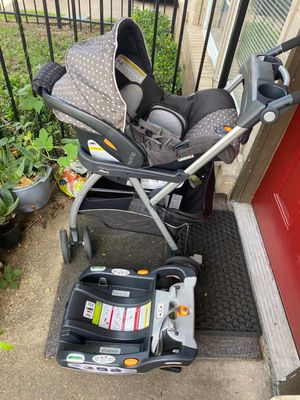 Baby infant car set and Shuttle Frame Stroller for Sale in Grand Prairie, TX