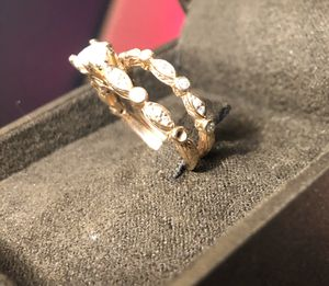 Engagement ring and wedding band. Rose gold. for Sale in Kennewick, WA