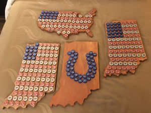 Indiana Beer Cap Wall Art for Sale in Mount Vernon, IN