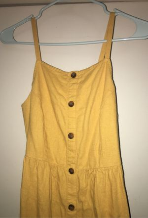 Old navy Dress ( Mustard yellow) for Sale in La Mirada, CA