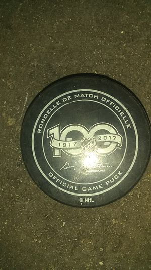 100 year Anniversary of the NHL Hockey Puck for Sale in Los Angeles, CA