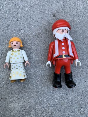 Playmobil Santa and Christmas angel for Sale in Camp Hill, PA