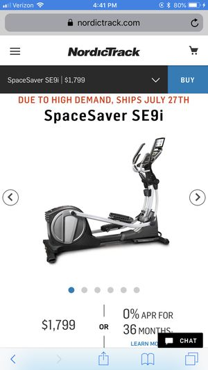 Nordictrack elliptical for Sale in Valley Home, CA