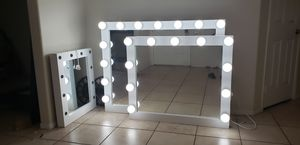XL makeup vanity mirrors for your salon ....price is for each for Sale in Riverside, CA
