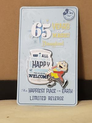 Disney Mr.Toad logo pin 65TH Anniversary Annual Passholder Pin Mr Toad for Sale in Aurora, CO