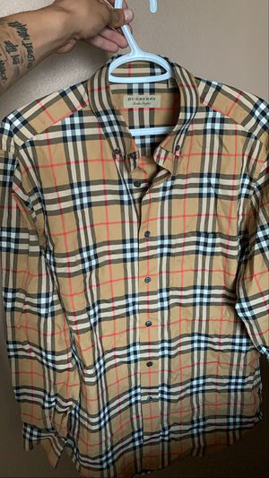 Burberry Long Sleeve Button Up for Sale in Puyallup, WA