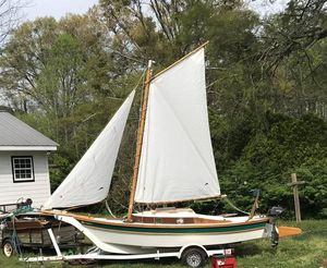 Hand Built Sailboat with Trailer - Price Reduced! for Sale in Moultrie, GA