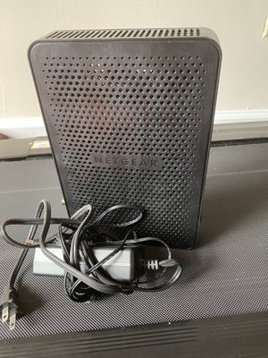 Netgear DOCSIS 3.0 modem router for Sale in Arlington, VA