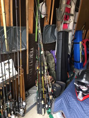 Fishing poles and reels for cheap for Sale in WATTENBURG, CO