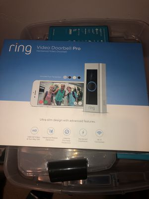 Ring Video Doorbell Pro(SEALED) Never Used for Sale in San Luis Obispo, CA