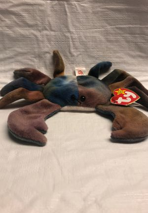 CLAUDE The CRAB, TY BEANIE BABY for Sale in Manhasset, NY