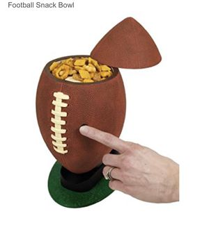 RockConcepts Football Snack Ball vintage for Sale in Dallas, TX