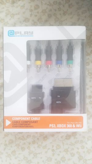 PS3, Xbox 360 component cables for Sale in Alexandria, VA