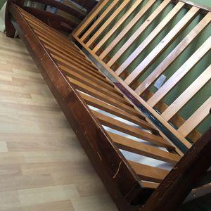 Wood Futon Frame for Sale in San Jose, CA