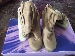 Tan Boots size 8 for Sale in Ashburn, VA
