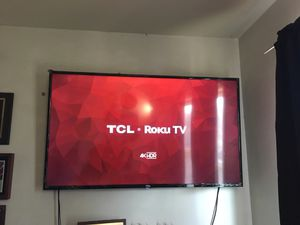 "TCL 55"" Class 4K Ultra HD HDR Roku Smart LED TV for Sale in South Setauket, NY"