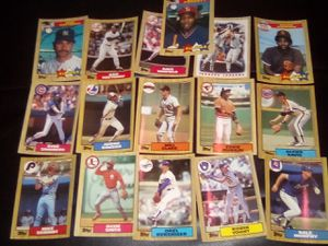 Topps Tiffany 1987 Baseball Cards! 325 Cards total! for Sale in Lacey, WA