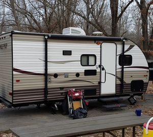 Camper trailer, Wolf Pup by Forest River for Sale in Third Lake, IL