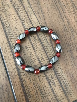 New Hematite round beads stretch bracelet for Men and Women (Nuevo). for Sale in Palmdale, CA
