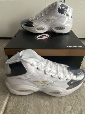 Reebok Question Mid 'Respect My Shine' size 12 for Sale in San Antonio, TX