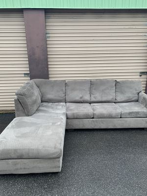 Gray Sectional - Local Delivery Available for Sale in Virginia Beach, VA
