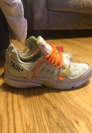 "OFF-WHITE x Air Prestos ""White"" for Sale in Olney, MD"