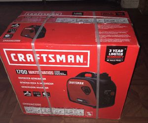 Craftsman 1700 Watt generator for Sale in Philadelphia, PA