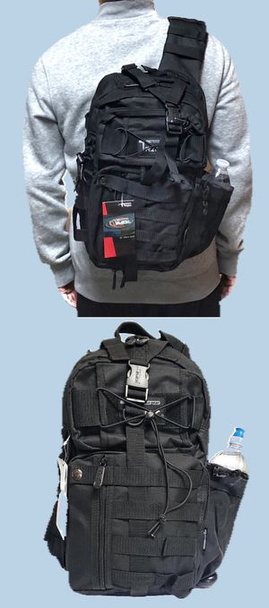 NEW! Tactical Military Style Backpack Sling Side Crossbody Bag gym bag work bag travel luggage school bag camping travel hiking hunting fishing for Sale in Carson, CA