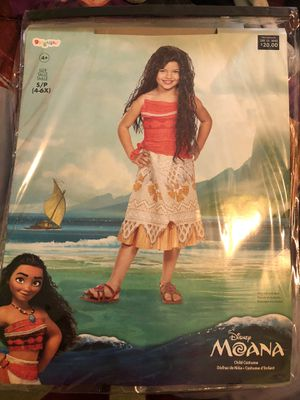 Moana Halloween dress for Sale in Des Plaines, IL