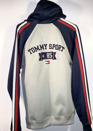 Tommy hilfiger jacket hoodie vintage tommy sport 10/10 condition for Sale in Parma Heights, OH