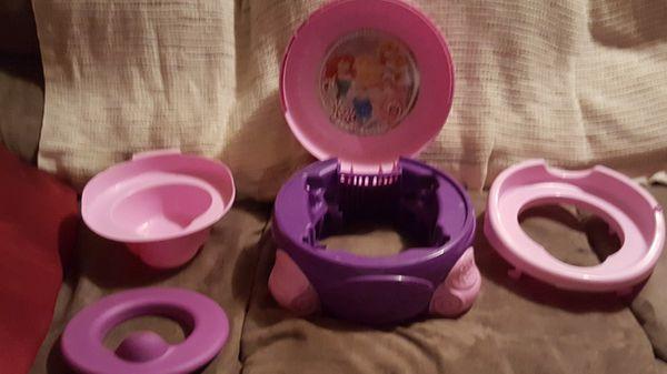Disney princess training potty