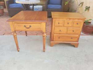 Pair of Ethan Allen End Tables for Sale in Escondido, CA