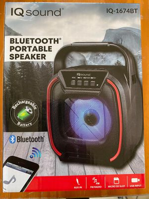 IQ sound Bluetooth speaker for Sale in Los Angeles, CA