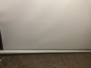 """Projector screen 90"""" for Sale in Albuquerque, NM"""