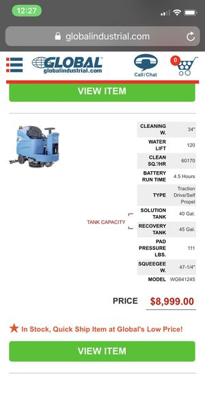 Industrial ride on scrubber for Sale in Las Vegas, NV