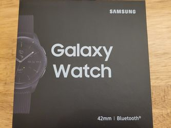 Galaxy Watch 42mm Black Bluetooth Brand New for Sale in Irving,  TX