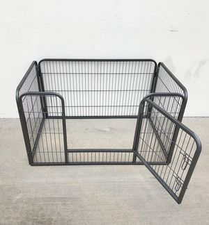 """New $75 Heavy Duty 49""""x32""""x28"""" Pet Playpen Dog Crate Kennel Exercise Cage Fence, 4-Panels for Sale in Whittier, CA"""