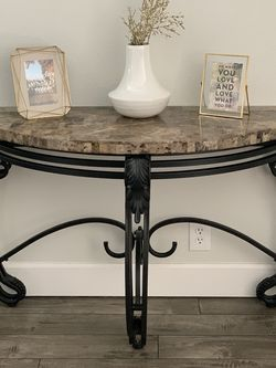 Semi circle console table for Sale in Beaverton,  OR