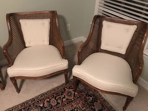 Set of Cane chairs for Sale in Raleigh, NC