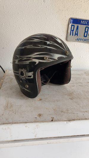 2 motorcycle helmets & small motorcross vest for Sale in Lakeland, FL