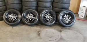 Set of wheels and tires 225/60r16 for Sale in Lynnwood, WA