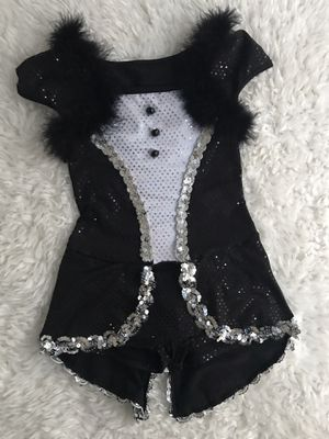 Penguin 🐧 Girls Halloween costume sz 5/6 Excellent Sequined Dress up for Sale in San Diego, CA