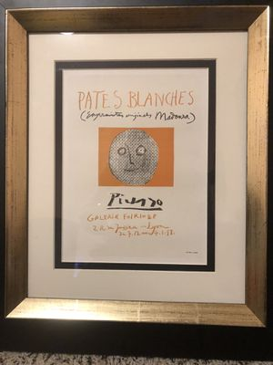 PICASSO~Lithograph on thick wove paper for Sale in Westminster, CA