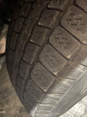 Jeep tires and 15 inch rims set of 4 for Sale in Gilbert, AZ